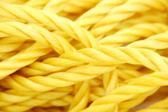 Rope, close-up Stock Photo