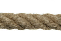 Rope close up, isolated Royalty Free Stock Photo