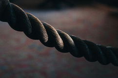 Rope Close up Stock Image