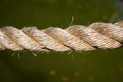 Rope Closeup Stock Photography
