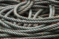 Rope Coil Royalty Free Stock Photos