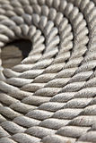 Rope coil background Stock Image