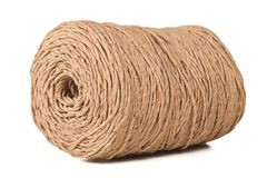 Rope coil isolated Royalty Free Stock Photos