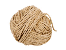 Rope coil. Isolated on white background Royalty Free Stock Photos