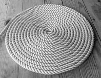 Rope Coil Stock Photography