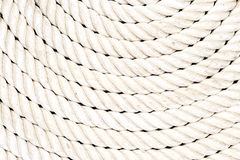Rope coiled up in circles Royalty Free Stock Photography