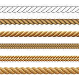 Rope Collection Royalty Free Stock Photos