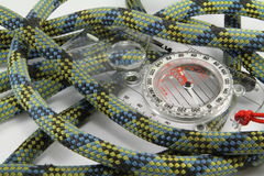 Rope and Compass Stock Photo