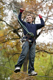 Rope Course Stock Image