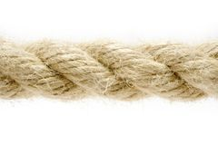 Rope Detail Royalty Free Stock Photography