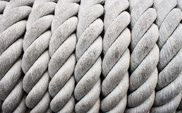 Rope. Details of the rope Royalty Free Stock Photos