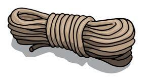 Rope stock illustration