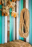 Rope in farm Stock Photos