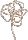 Rope flower Royalty Free Stock Photography