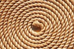Rope folded helix Stock Image