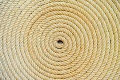 Rope folded helix background Royalty Free Stock Images