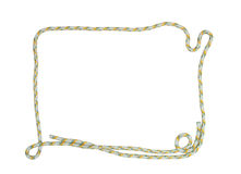 Rope Frame Royalty Free Stock Photography