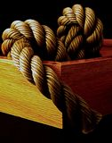Rope in a Frame Royalty Free Stock Photos