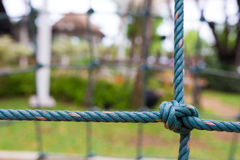 Rope frame Royalty Free Stock Images
