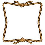 Rope Frame Menu. A vector illustration of a Rope Frame Menu royalty free illustration