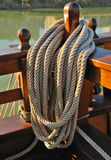Rope galleon Stock Photos