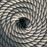 Rope. Great gray sailboat rope Stock Photography