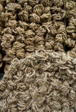 Rope heap. Heap  of brawn  rope texture Royalty Free Stock Photography