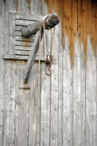Rope and hook Stock Images