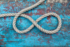 Rope infinity Stock Image