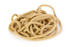 Rope isolated Royalty Free Stock Images