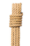 Rope isolated on the white background Royalty Free Stock Photo
