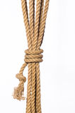 Rope isolated on the white background Stock Photo