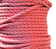 Rope isolated on a white background Royalty Free Stock Photos