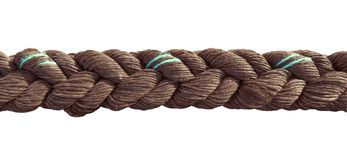 Rope close up isolated Stock Photography