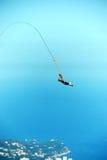 Rope jumping. Royalty Free Stock Photos