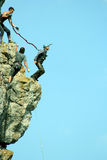 Rope jumping. Stock Photos