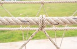 Rope knob Royalty Free Stock Image