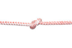 Rope with knot 1 Stock Image