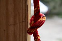 Rope knot Royalty Free Stock Photo