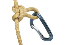 Rope knot. Royalty Free Stock Images