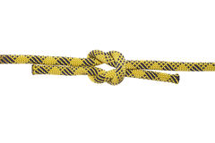 Rope with a knot Stock Image