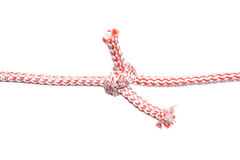 Rope with knot 2 Royalty Free Stock Photo