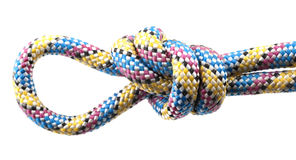 Rope with knot Stock Photos