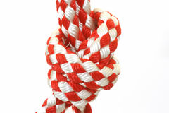 Rope with knot Royalty Free Stock Images