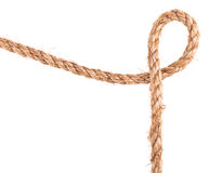 Rope knot frame Royalty Free Stock Photo