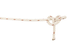 Rope knot isolated on white background Stock Images