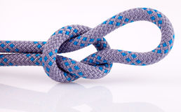 Rope knot with loop Royalty Free Stock Images