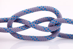 Rope knot with loop Stock Photos
