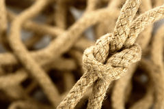 Rope knot Royalty Free Stock Photography