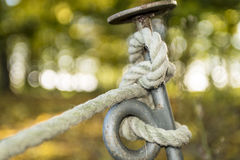 Rope knot Stock Photos